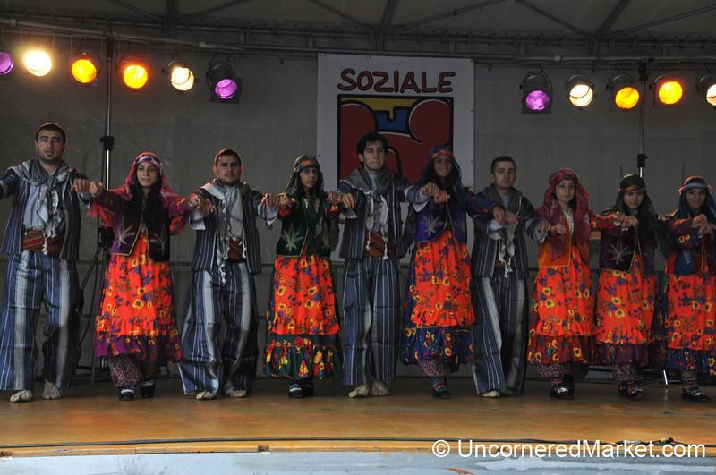 Anatolian Dancing in Berlin, Germany