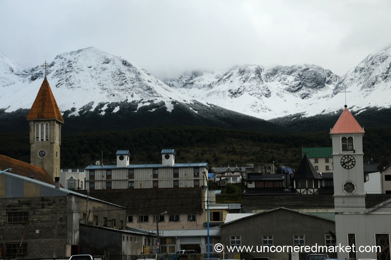Town at the Edge of South America - Ushuaia, Argentina