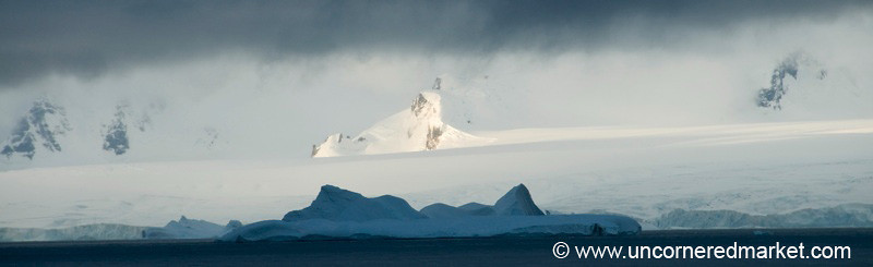 Antarctica Landscapes at Dusk
