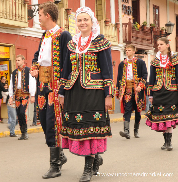 Polish Dancers - Cajamarca, Peru