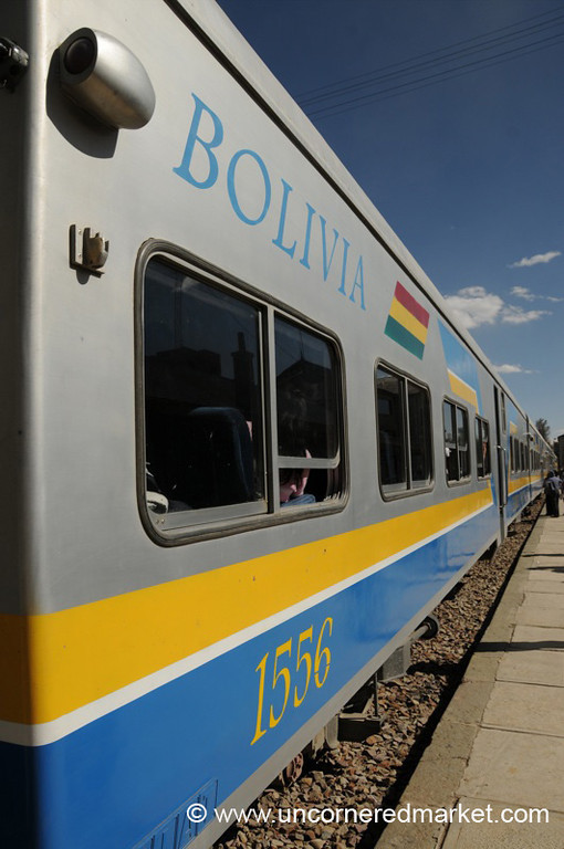 Bolivian Train from Oruru to Tupiza