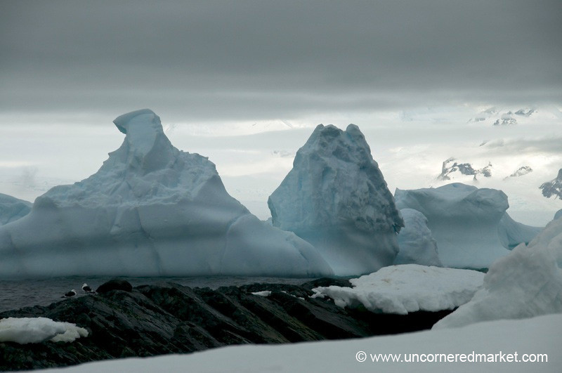 Layers of Snow and Ice - Antarctica