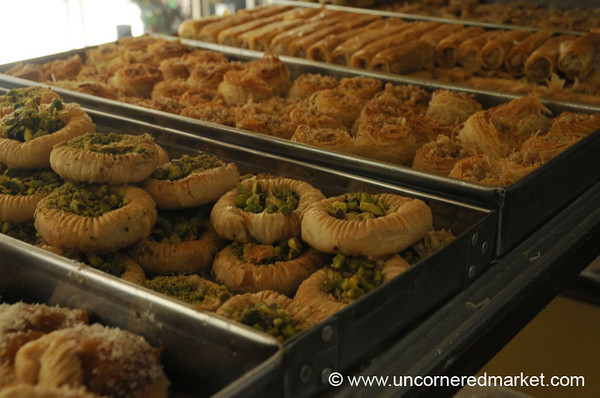 Delicious Desserts at Panaderia Armenia in Buenos Aires, Argentina