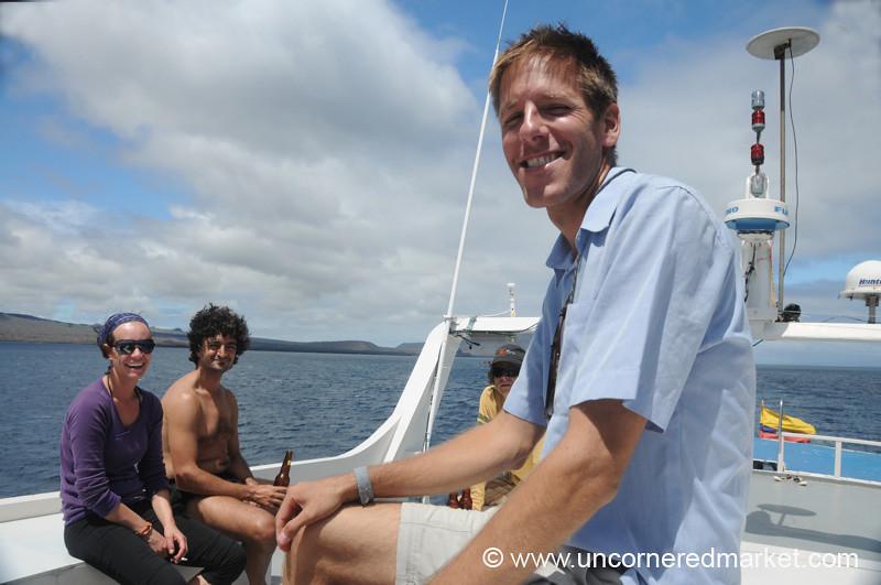 Hanging Out - Galapagos Islands