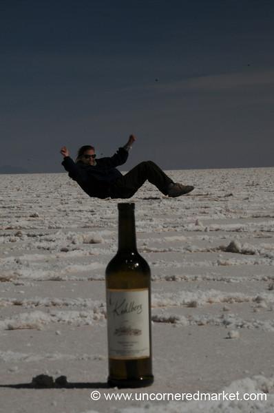 The Genie out of the Bottle - Salar de Uyuni, Bolivia
