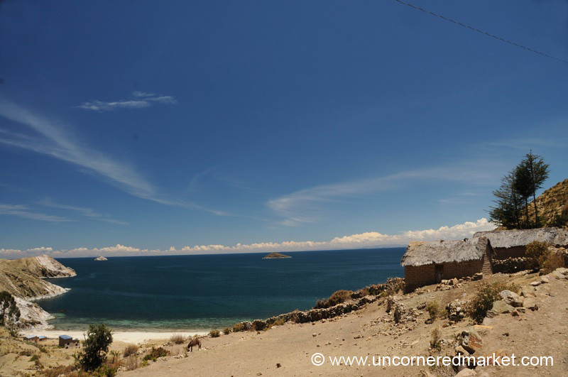 Isla del Sol at Lake Titicaca - Bolivia
