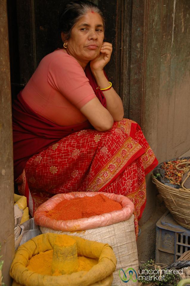 Spice Lady - Kathmandu, Nepal
