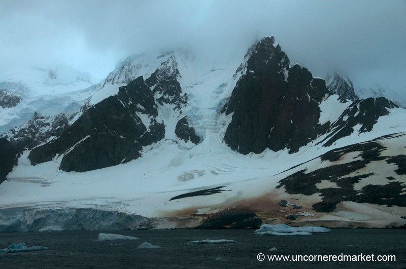 Layers of Ice and Snow - LeMaire Channel, Antarctica
