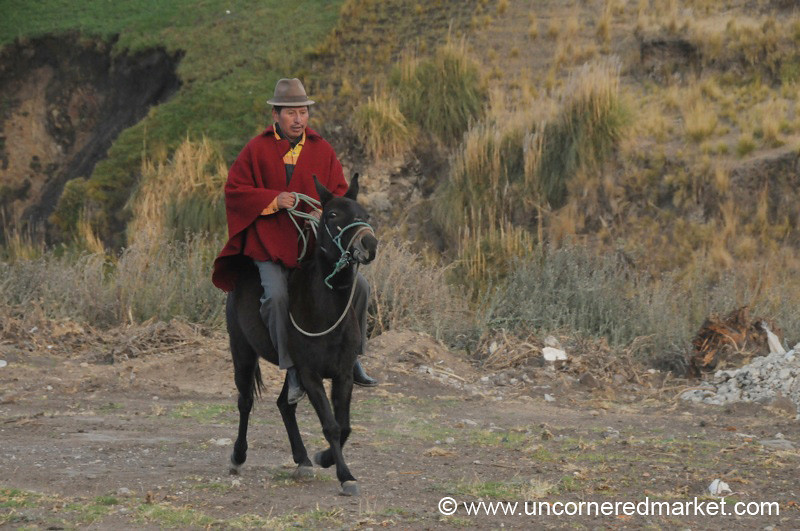 Going for a Test Ride - Zumbahua, Ecuador