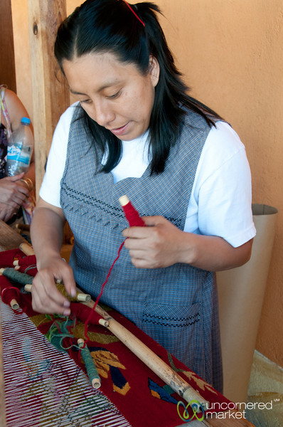 Learning to Weaving - Teotitlán del Valle, Oaxaca