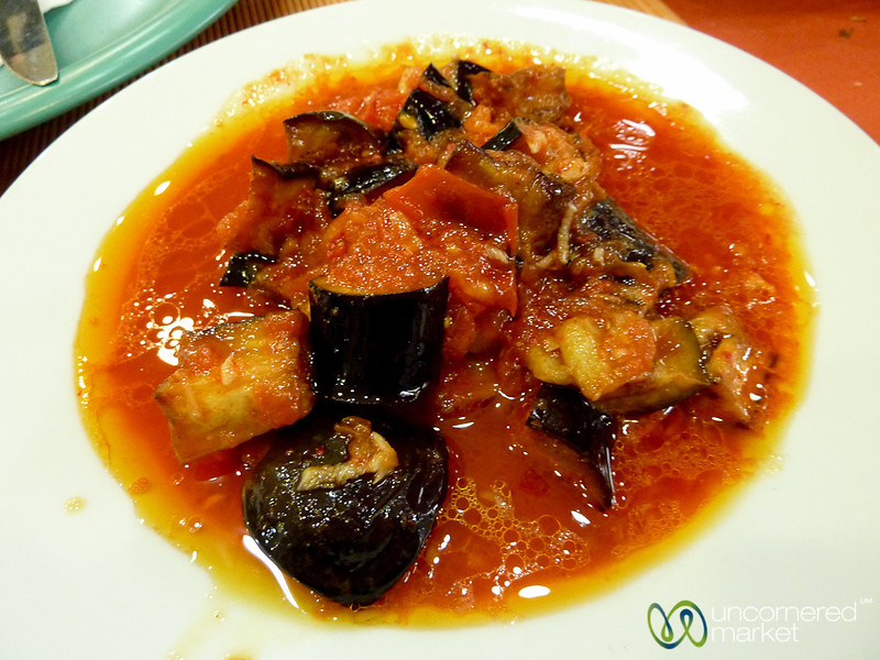 Roasted Eggplant in Tomato Sauce - Istanbul, Turkey