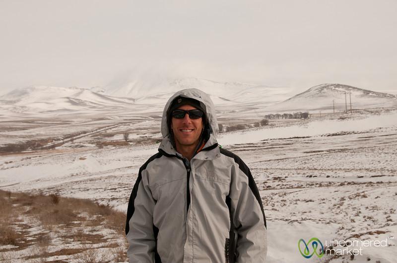 Dan in the Iranian Mountains - Ardabil to Tabriz