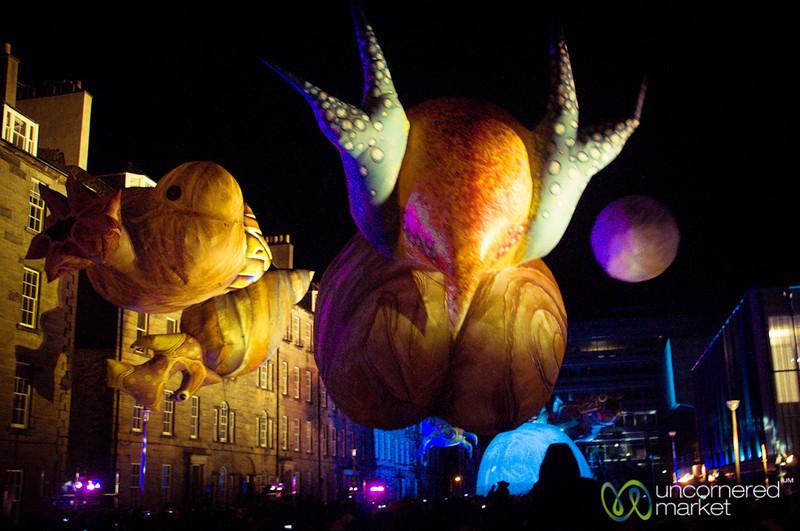 Big Bang, the Earth's Evolution - Hogmanay, Edinburgh