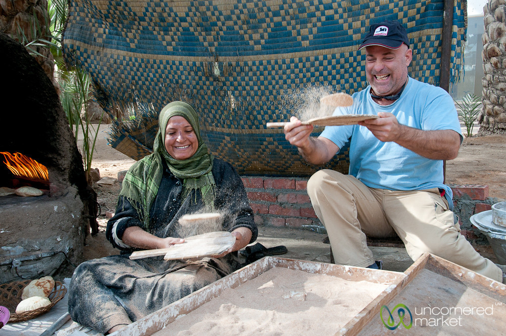 Men Can Make Bread, Too - Cairo, Egypt