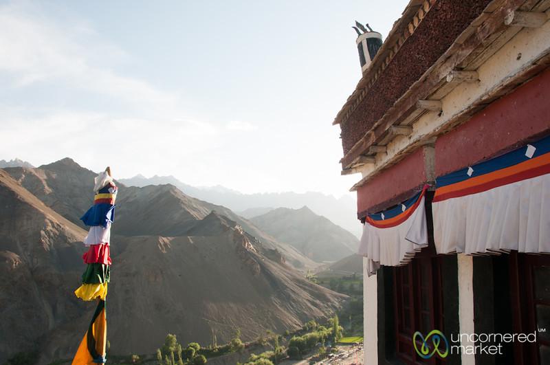 Lamayuru Monastery, Looking Into Zanskar Range - Ladakh, India