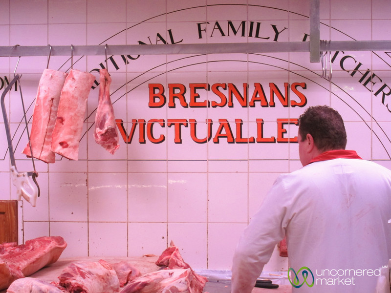 English Market, Family Butcher - Cork, Ireland