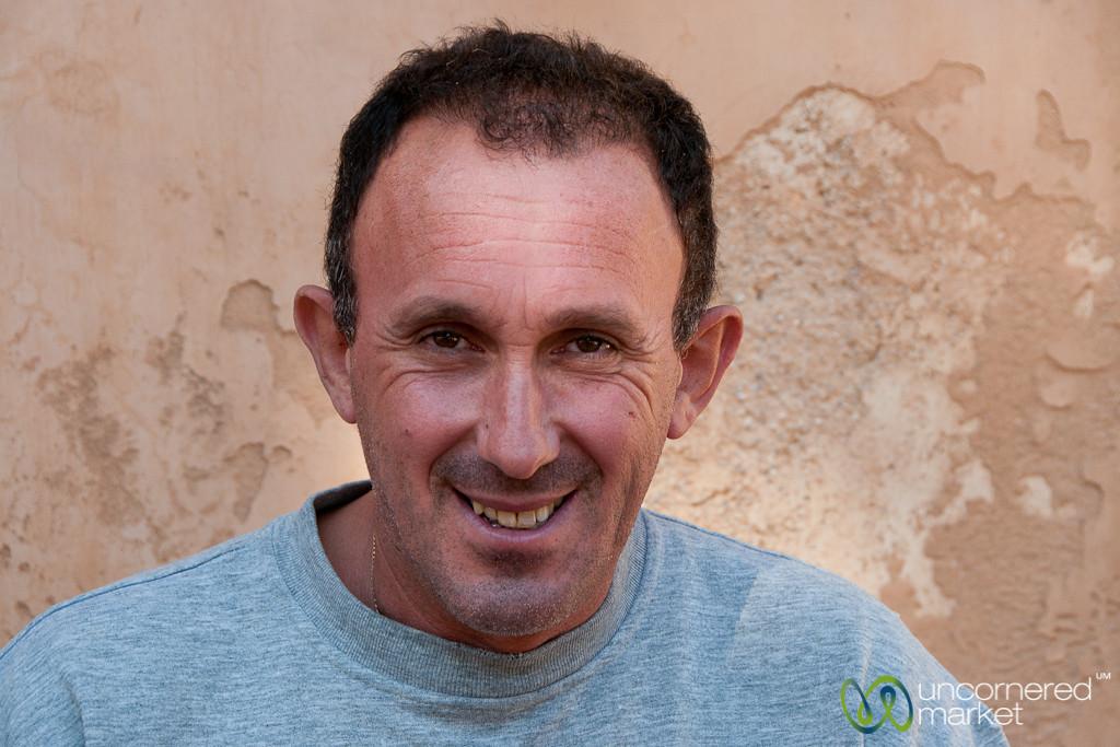 Friendly Crete Man - Arkadi, Crete