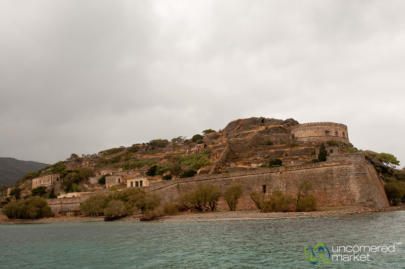 Spinalonga Fortress - Crete, Greece