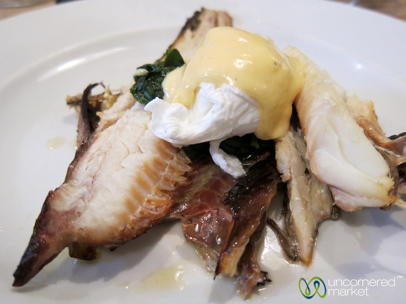Poached Eggs with Smoked Haddock - Edinburgh, Scotland