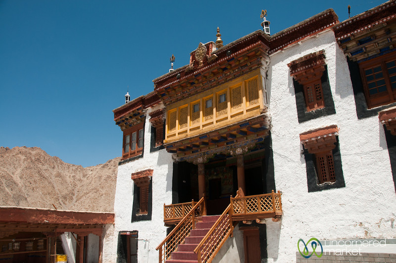 Likir Monastery, Main Courtyard - Ladakh, India