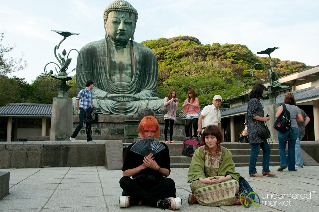 Photo Shoot with Great Buddha - Kamakura, Japan
