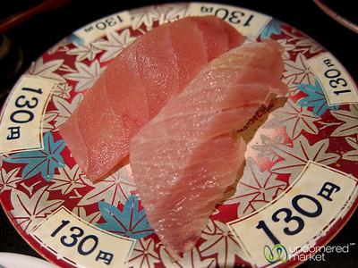 Nigiri Sushi in Shinjuku - Tokyo, Japan