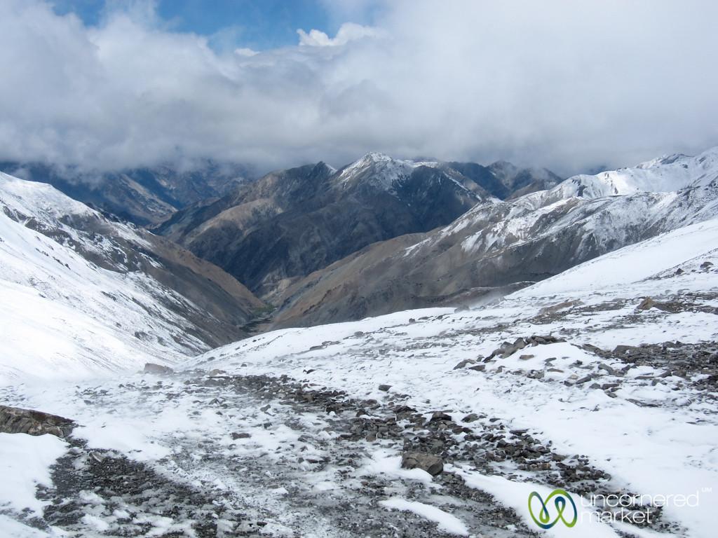 Crossing Ganda La Pass in a Snowstorm - Ladakh, India