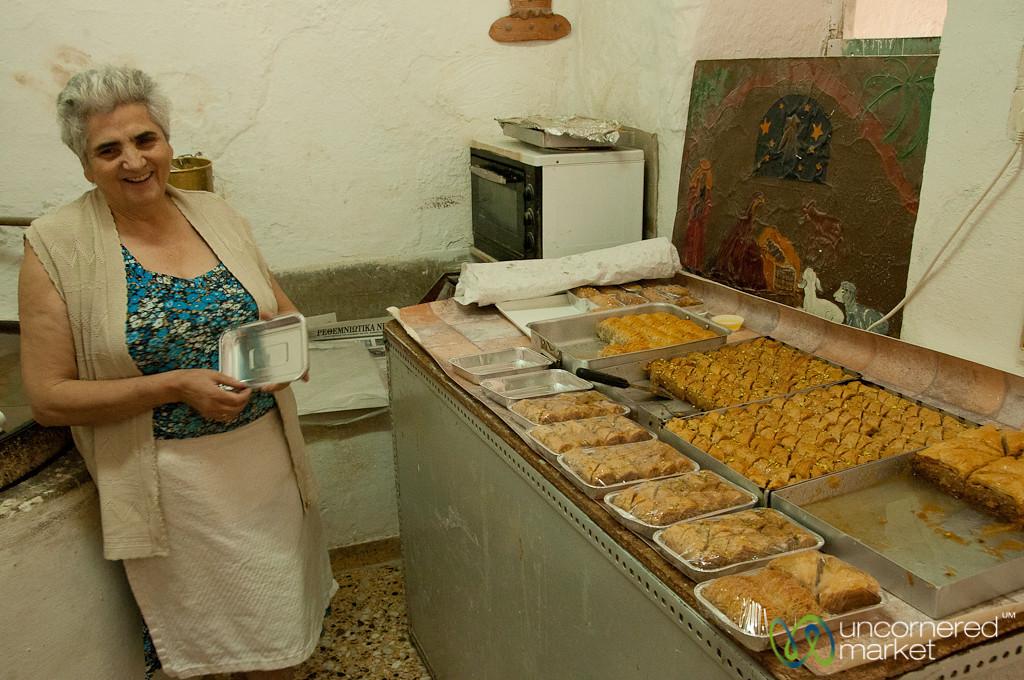 Homemade Baklava and Desserts - Rethymnon, Crete