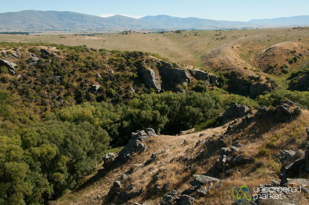 Central Otago Landscape - South Island, New Zealand