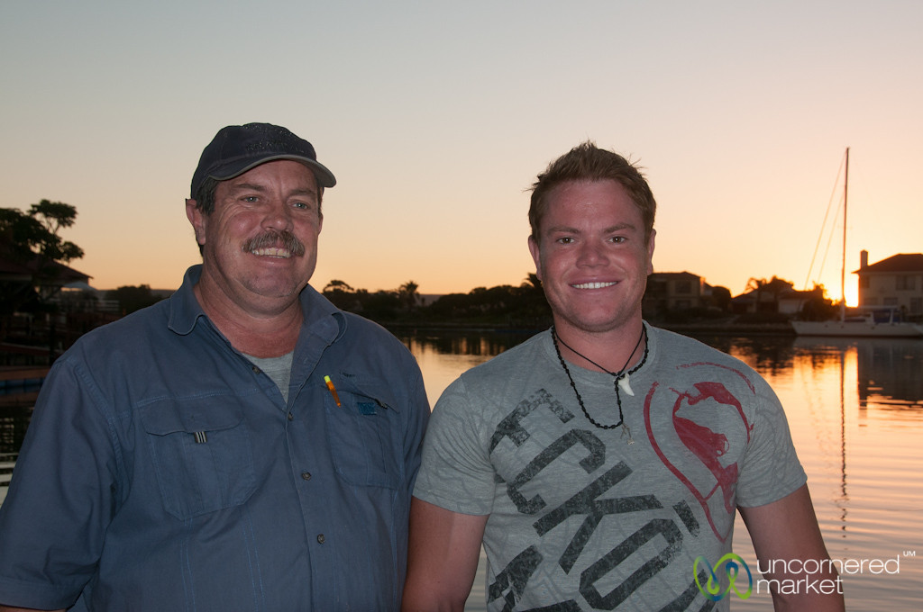 Father and Son, Tollies River Cruises - Port Owen, Western Cape