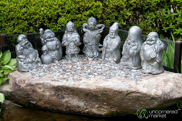 7 Lucky Buddhist Dieties - Daisho-In Temple, Miyajima