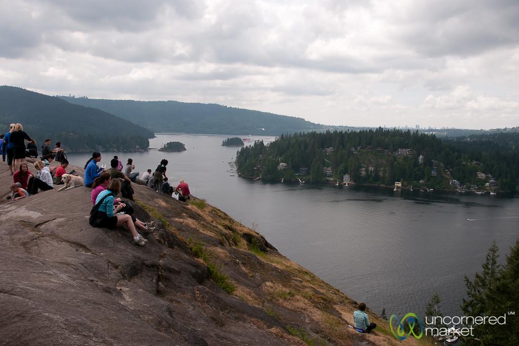 Hiking at Deep Cove - Vancouver, BC