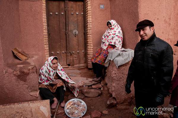 Abyaneh Women in Iran
