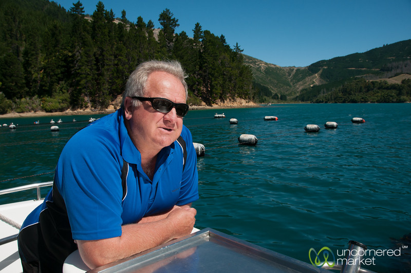 Chris from Sea Odyssea - Queen Charlotte Sound, New Zealand
