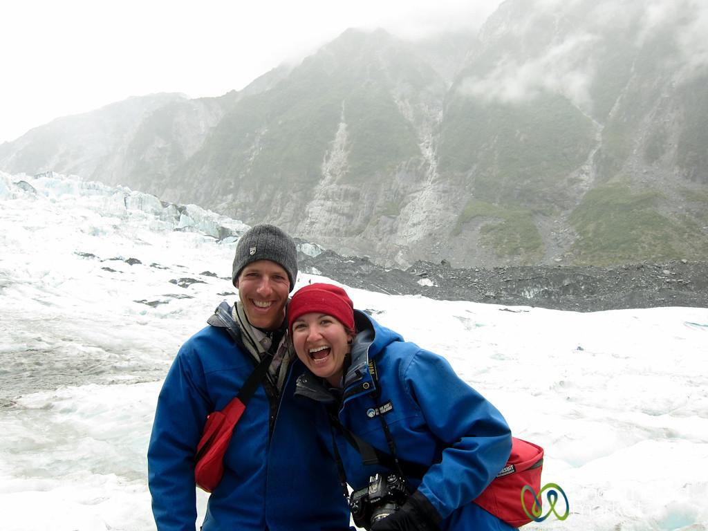 Franz Josef Glacier, Goofing Around - South Island, New Zealand