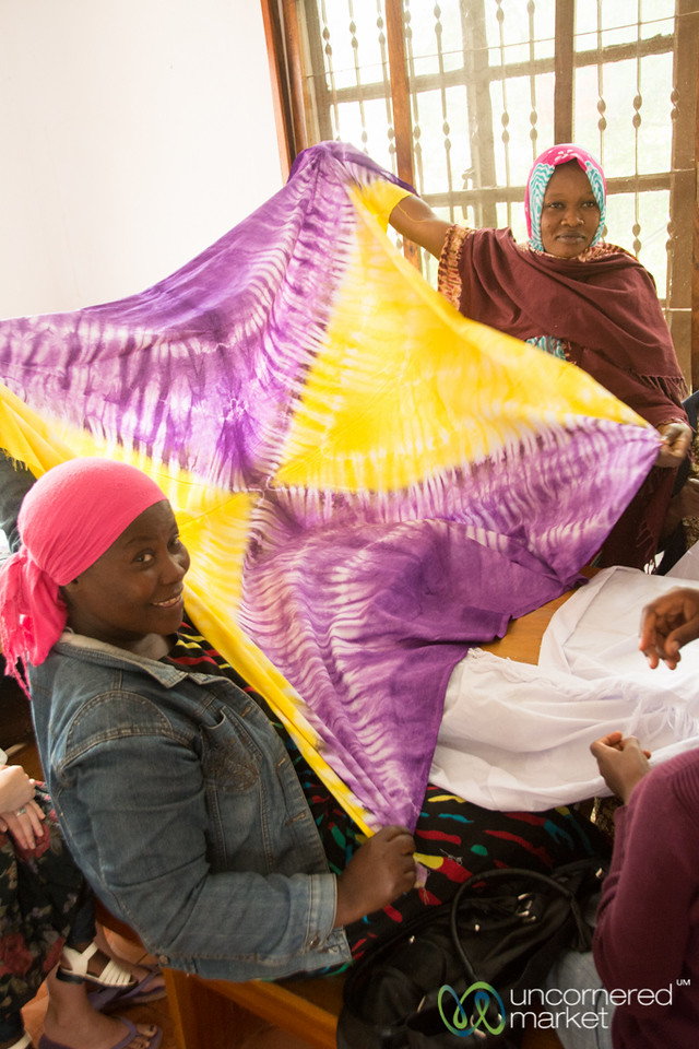Women Learn Crafts at Give a Heart to Africa - Moshi, Tanzania