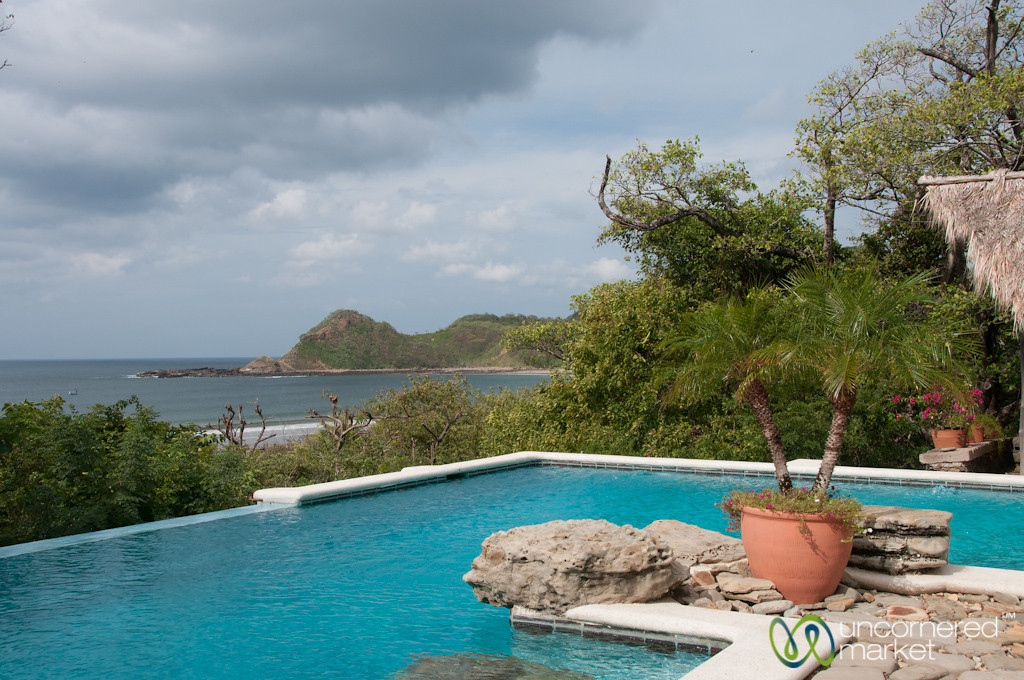 View from the Restaurant at Morgan's Rock, Nicaragua