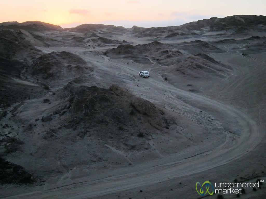 Roads Through the Desert - Swakupmond, Namibia