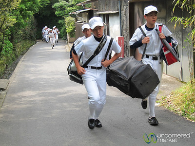 Baseball Practice, In a Rush - Kamakura, Japan