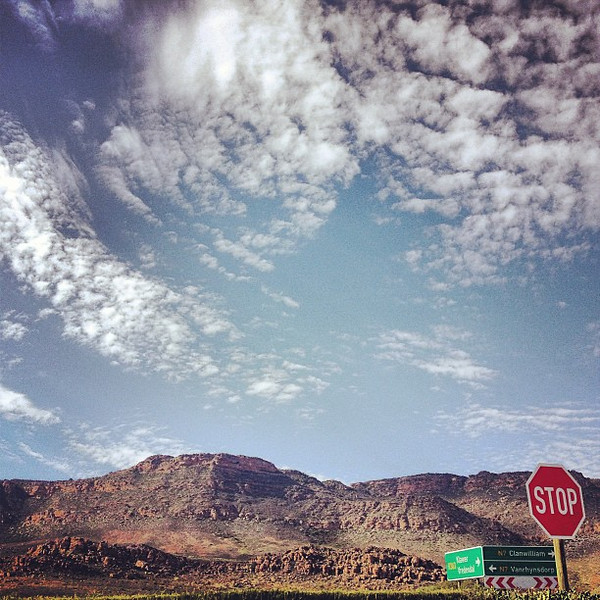 """Stop"": Road trip Western Cape --> Northern Cape #SouthAfrica"