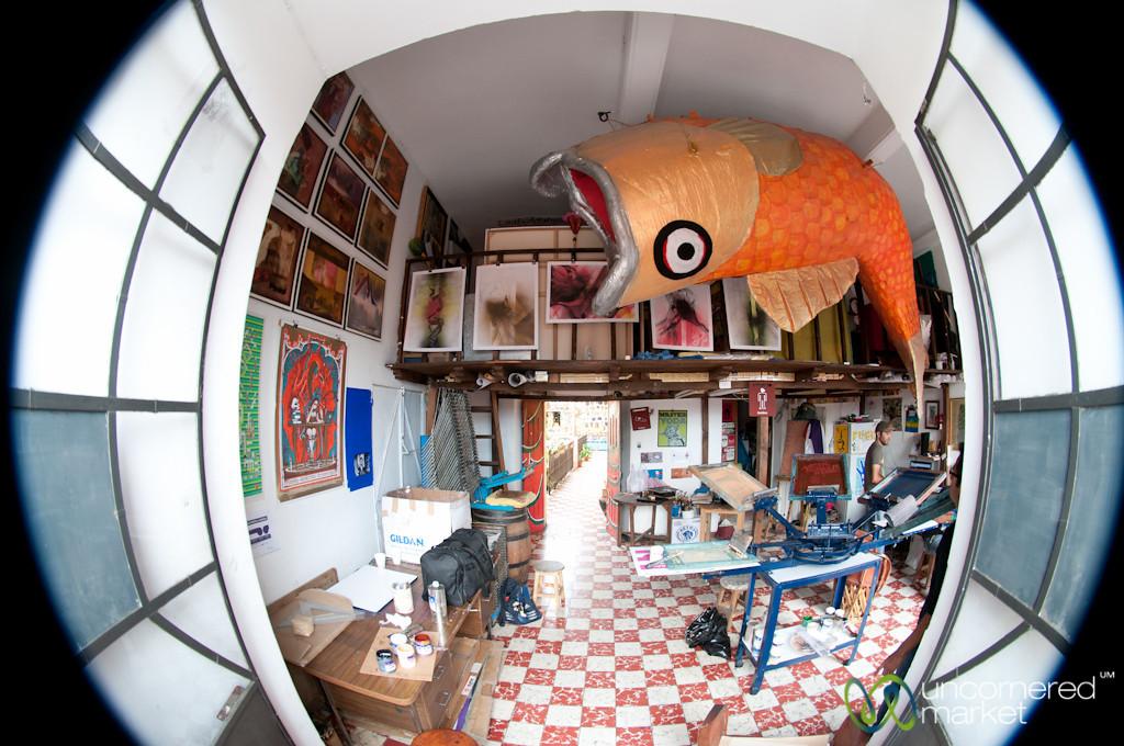 Oaxaca Design Studio Fisheye - Mexico