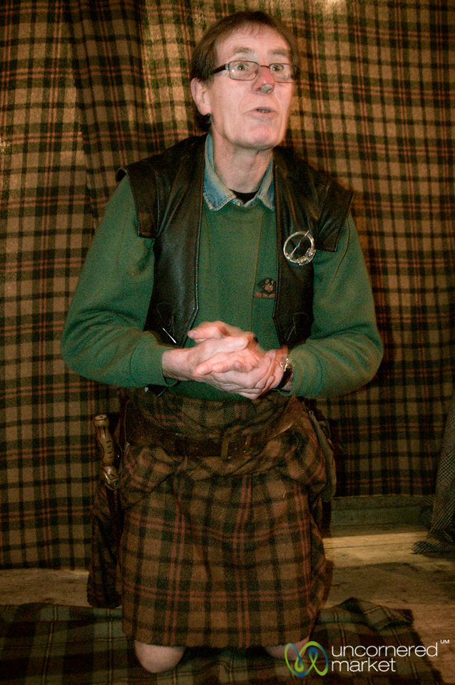 Traditional Highland Dress at the Clansman Center - Fort Augustus, Scotland