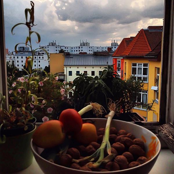 Berlin, still life before the storm