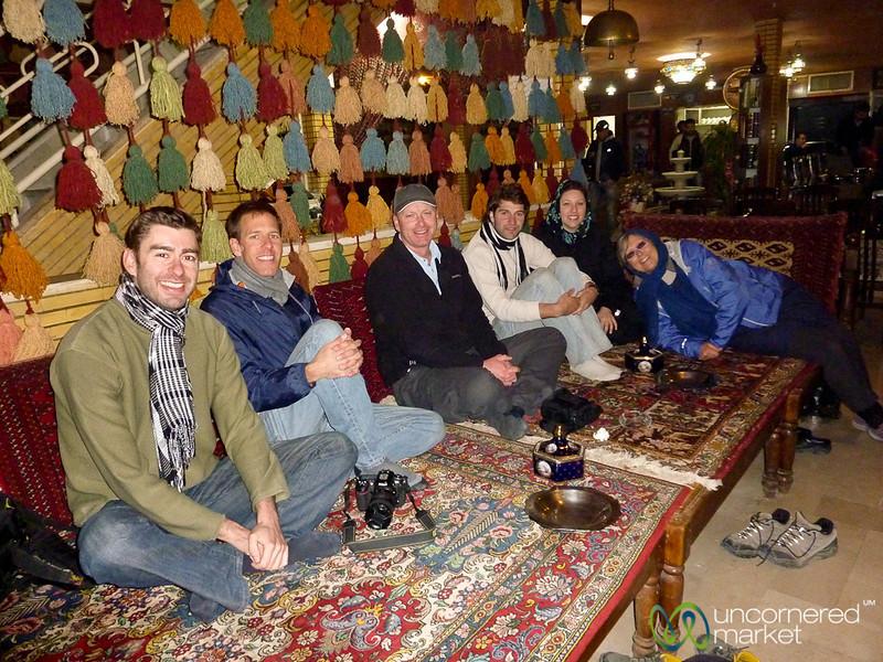 Esfahan Tea House, Iran