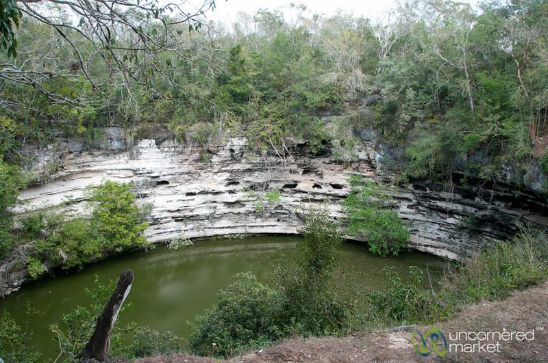 Cenote at Chichen Itza - Yucatan, Mexico