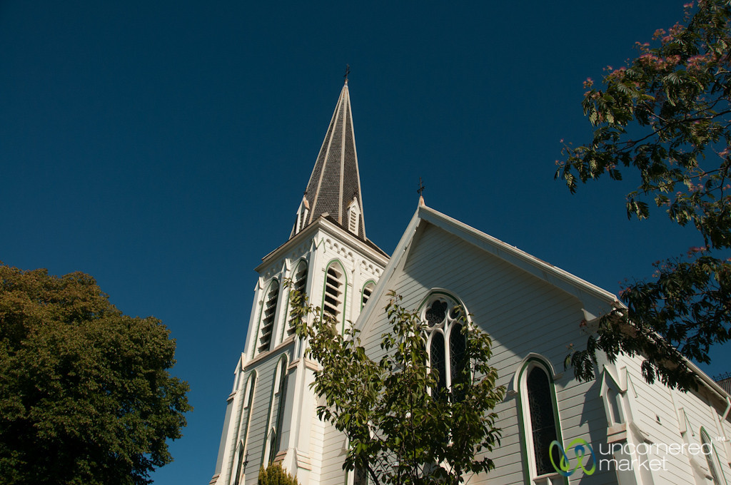 Classic Church in Nelson, New Zealand