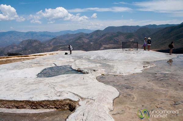 Hierve el Agua Landscape - Oaxaca, Mexico