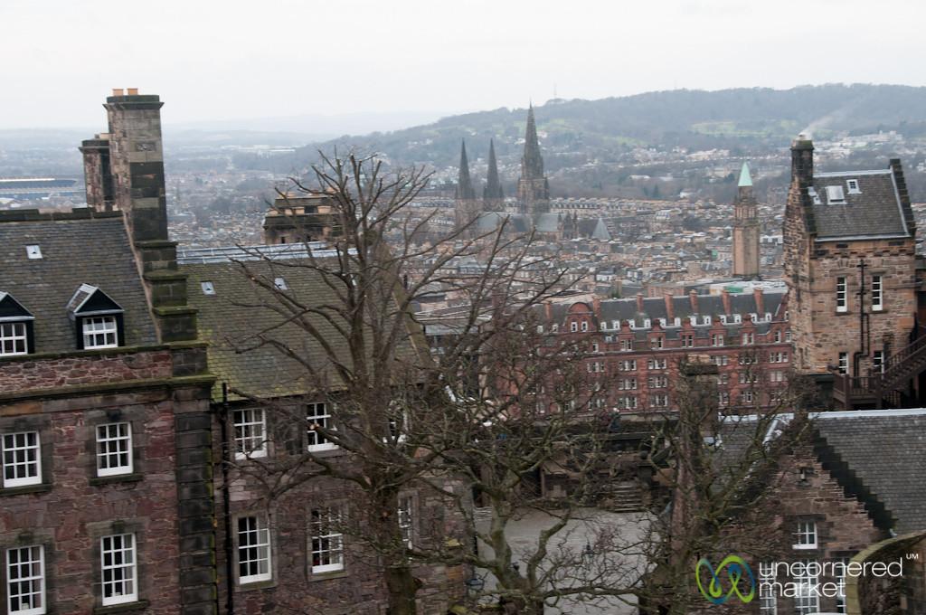 Edinburgh Rooftops - View from Edinburgh Castle
