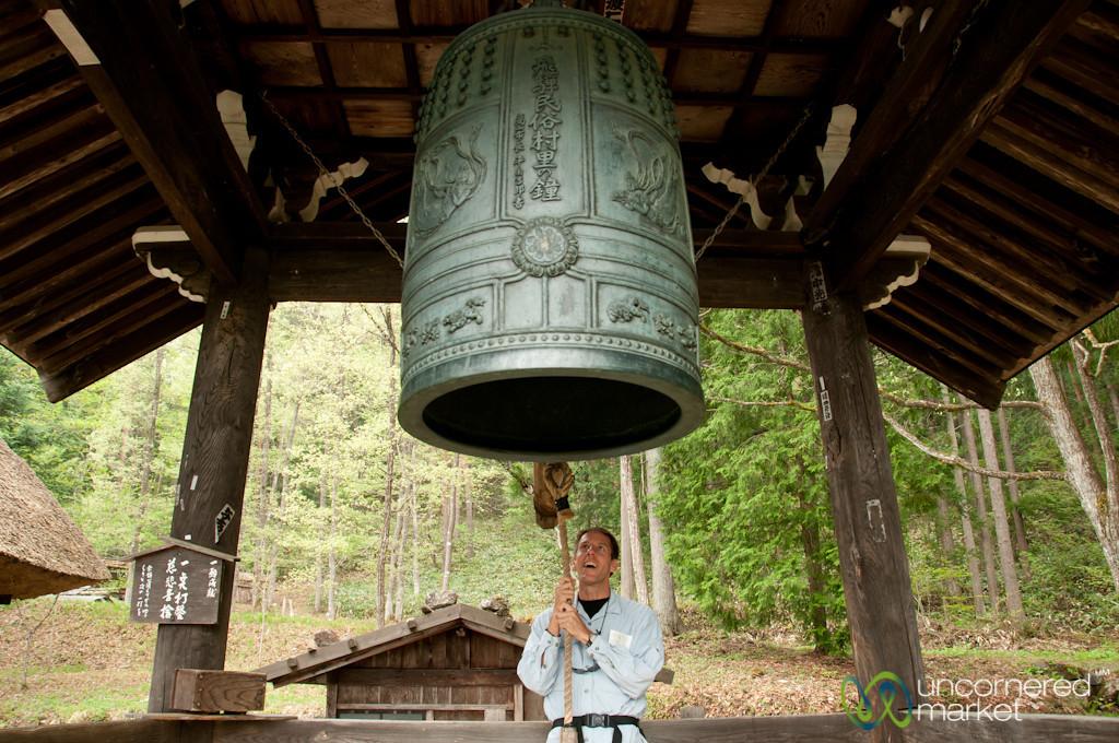 Dan Rings the Bell - Takayama, Japan
