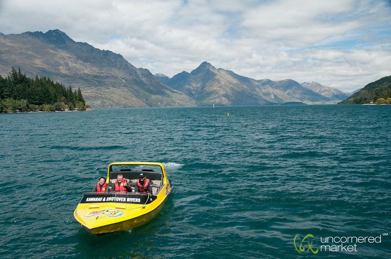 Queenstown Jet Boat - New Zealand